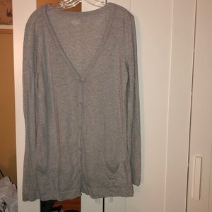 EUC VICTORIA SECRET LIGHT WEIGHT BUTTON CARDIGAN